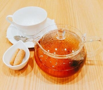 どんぐり茶(どんぐりクッキー付)