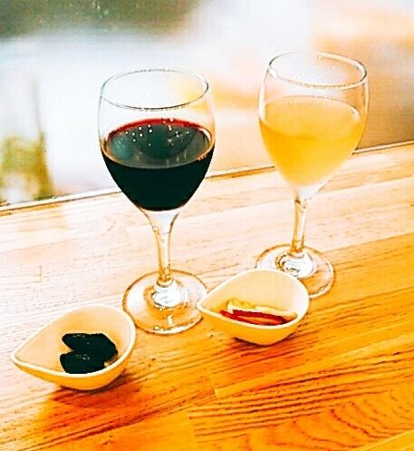 有機グラスワイン (白/赤)